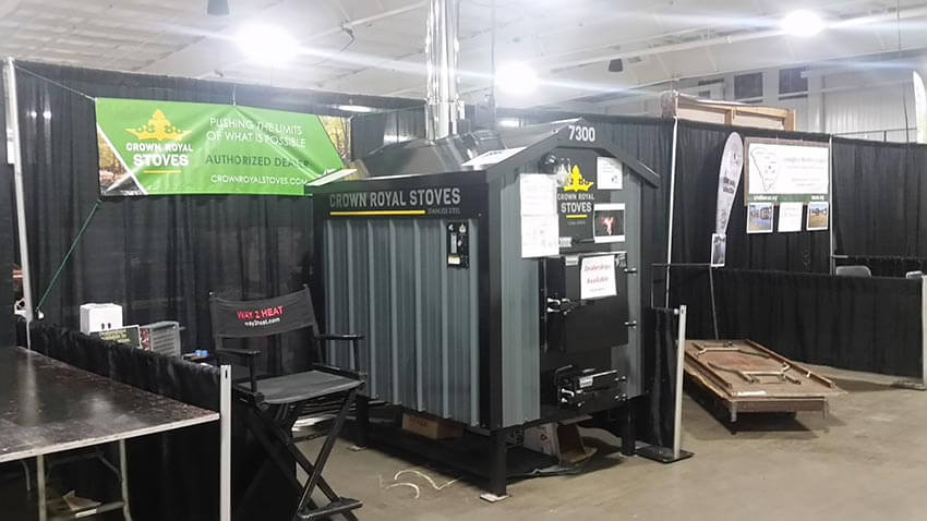 Upcoming Shows Outdoor Furnaces Crown Royal Stoves